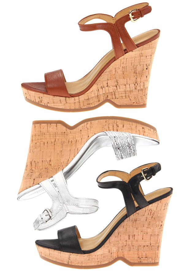 Nine West Women's 'Trickster' Leather Sandals (Size 8.5 )
