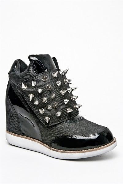 Jeffrey Campbell – Teramo Spike High Wedge Sneaker
