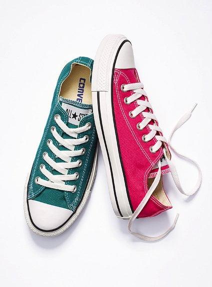 Pink and Teal Chucks