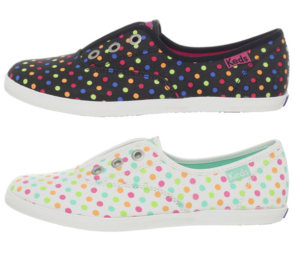 Keds – Rookie Laceless Candy Buttons