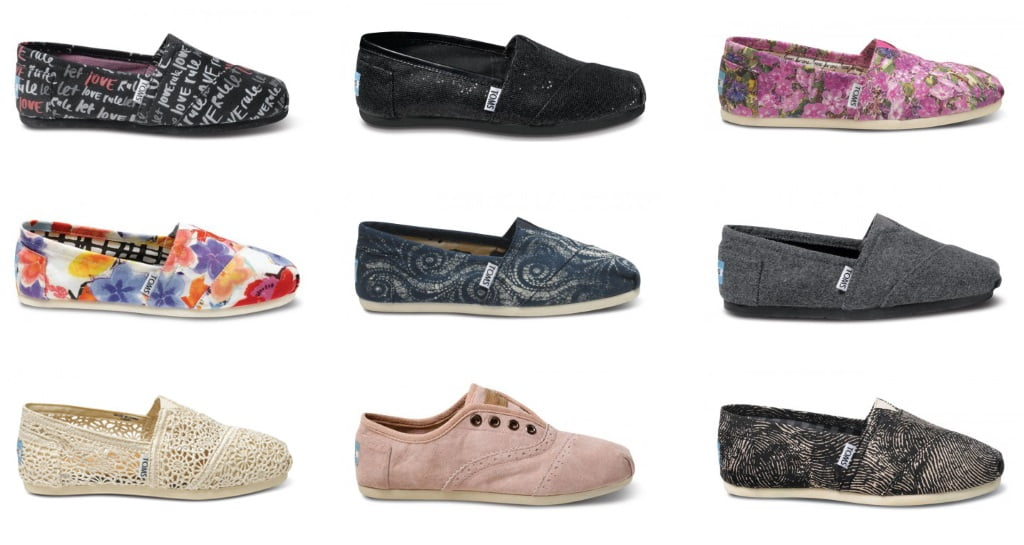 Shoe Shop for a Great Look and a Great Cause: Tom's Shoes