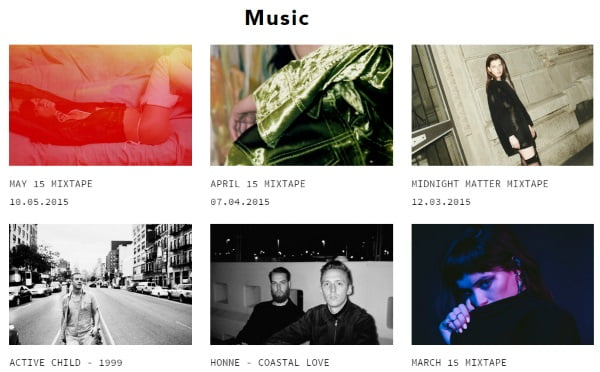 TEETH - Music